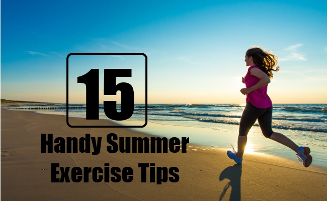 Handy Summer Exercise Tips