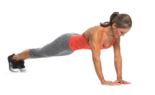 Close-hand Pushup