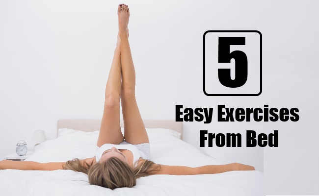 Easy Exercises From Bed