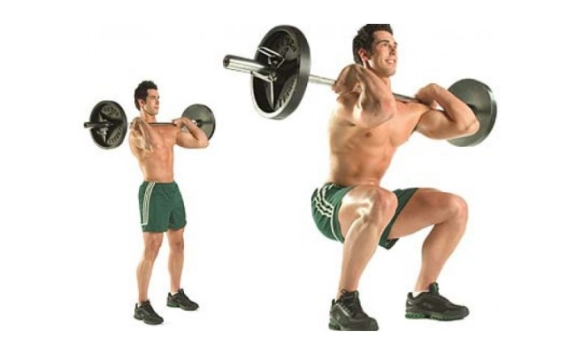 Forward squats