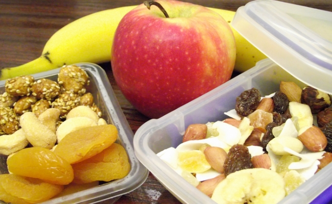 Carry Healthy Snacks