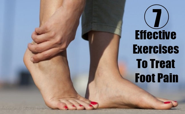 Effective Exercises To Treat Foot Pain