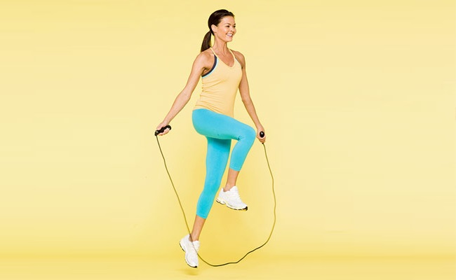 Jump And Run Rope Workout