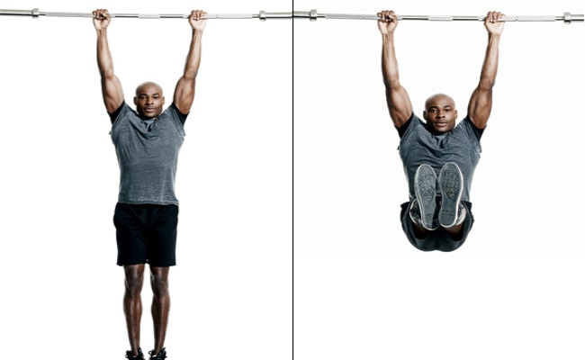 Leg Raise By Hanging