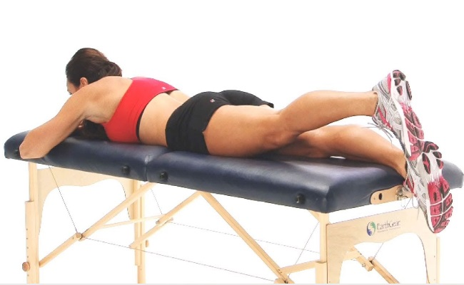 Prone Buttock Extension