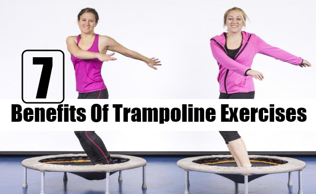 Benefits Of Trampoline Exercises