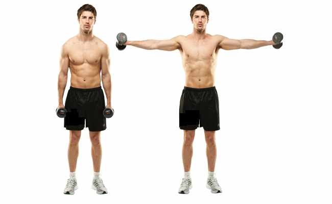 Lateral Raise Using Dumbbells