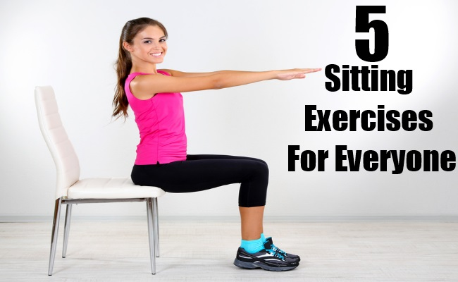 Sitting Exercises For Everyone