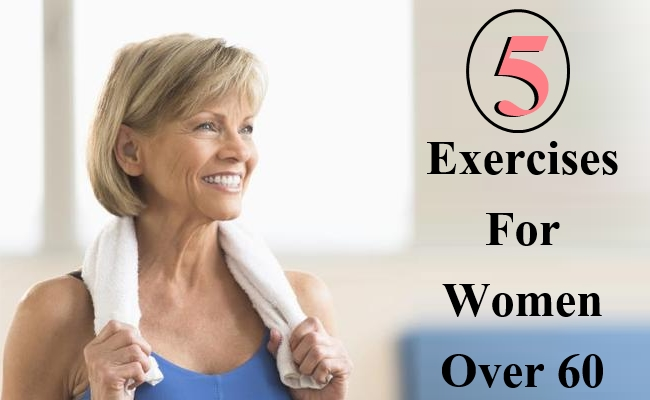 5 Exercises For Women Over 60