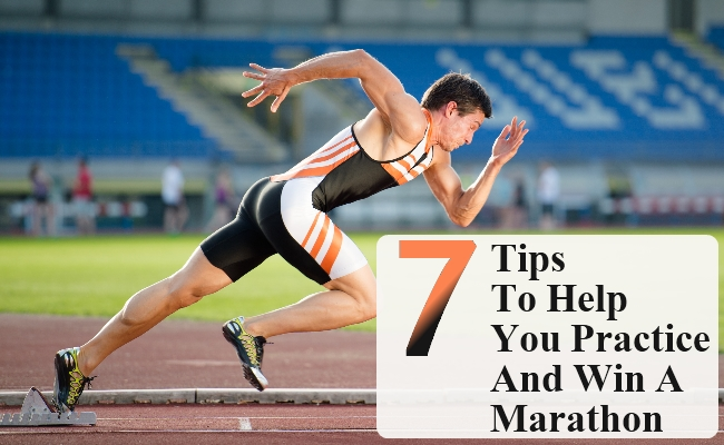 Tips To Help You Practice And Win A Marathon