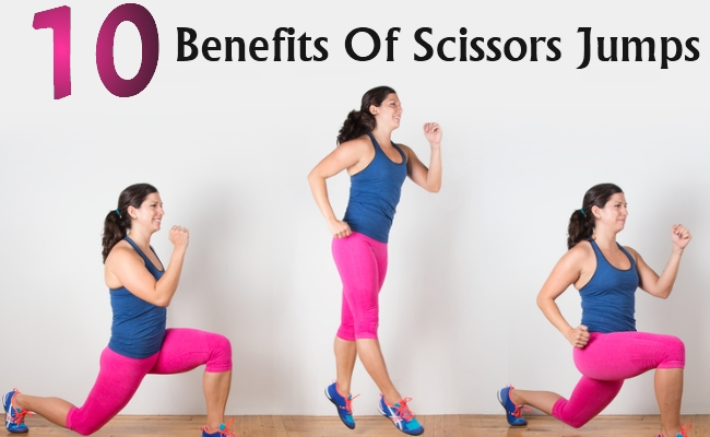 Benefits Of Scissors Jumps