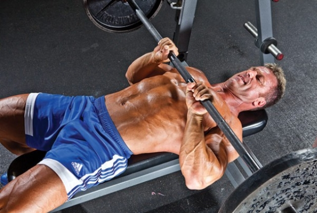 Closed-Grip Bench Press