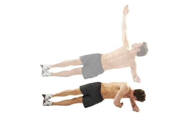 Side Plank and Reach