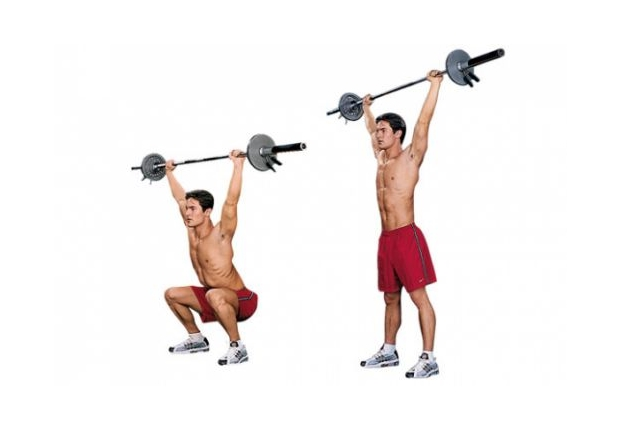 Overhead Squat Exercise