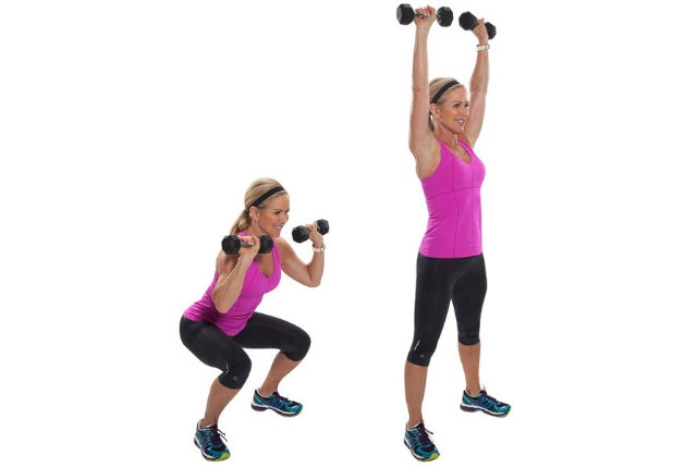 Squat Thrusters