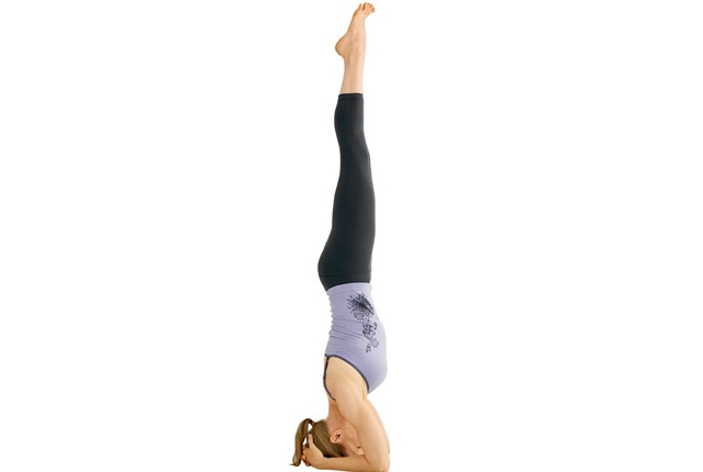 Supported Head Stand