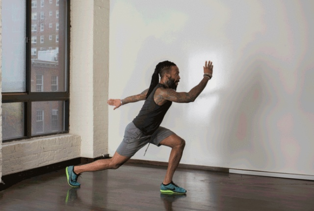 Plyo Lateral Lunge