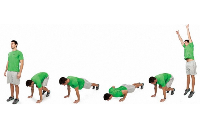 Amazing Plyo Burpees