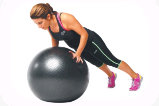 Stability Ball Push-Ups