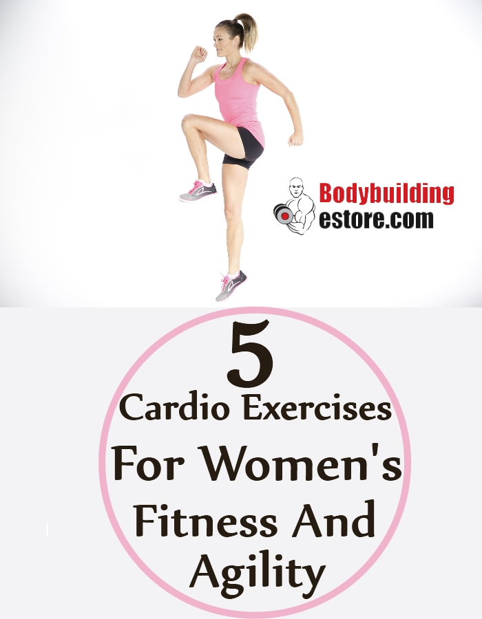 5 Bodyweight Cardio Exercises For Women's Fitness And Agility