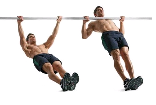 Incline Pullups