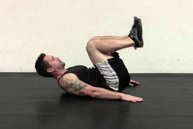 Knee Folds Crunch