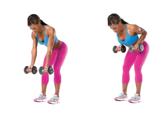 Rear Dumbbell Rows