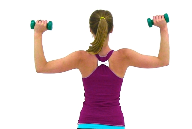 Build your shoulders and chest