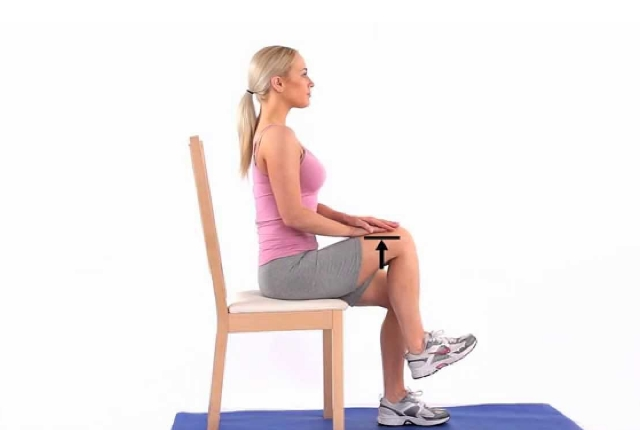 Hip Flexion In Seated Position