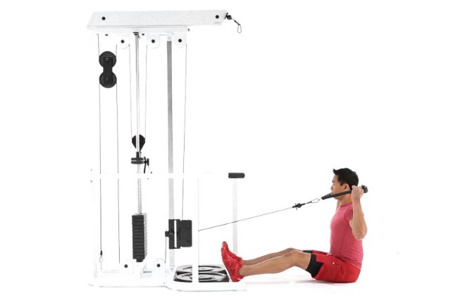 Seated Cable Y Raise