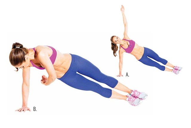 Twisted Side Plank