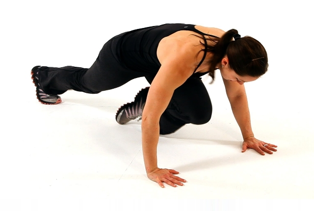 Floor Slide Mountain Climbers