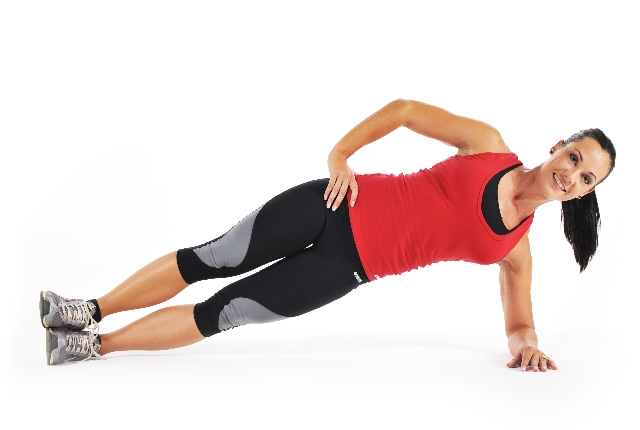 Sweep Through Side Plank