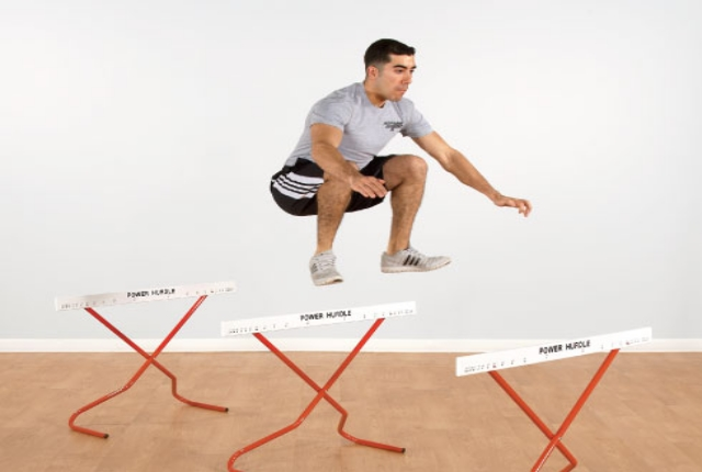 Walking Knee-Over-Hurdle