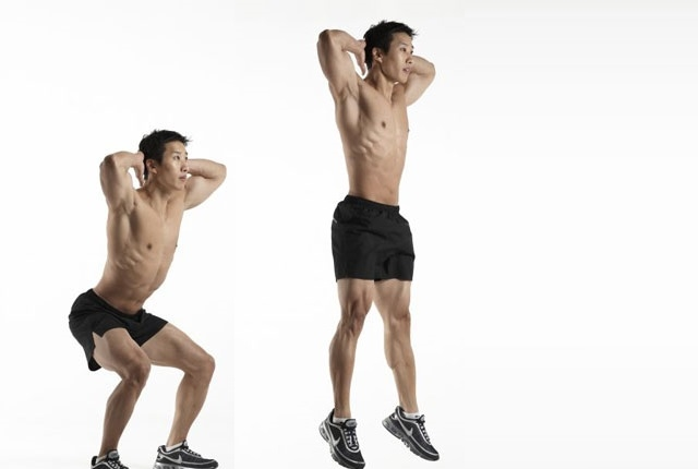 Body Weight Jump Squat