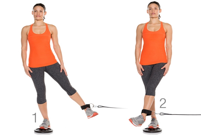 Cable Hip Adduction