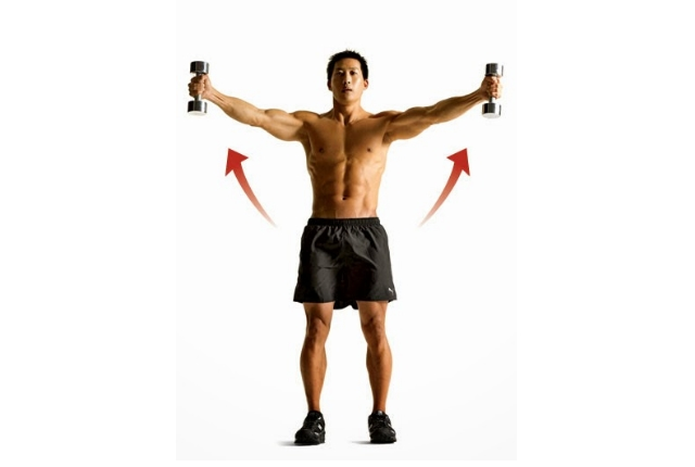 Dumbbell Scaption