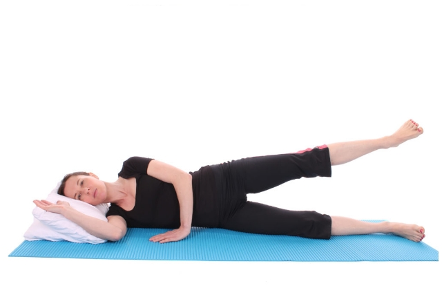 Lying Hip Abductions