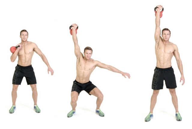 Kettlebell One-Arm Clean