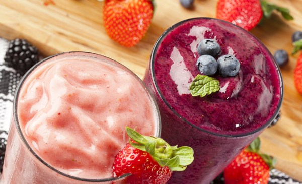 fruit smoothies for breakfast