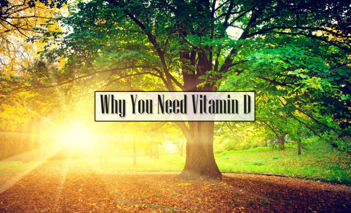 Why You Need Vitamin D