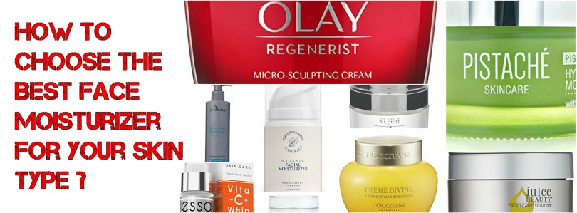 How To Choose The Best Face Moisturizer for Your Skin Type 1
