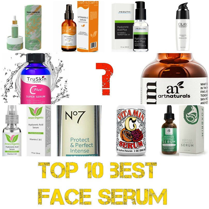Top 10 best face serum