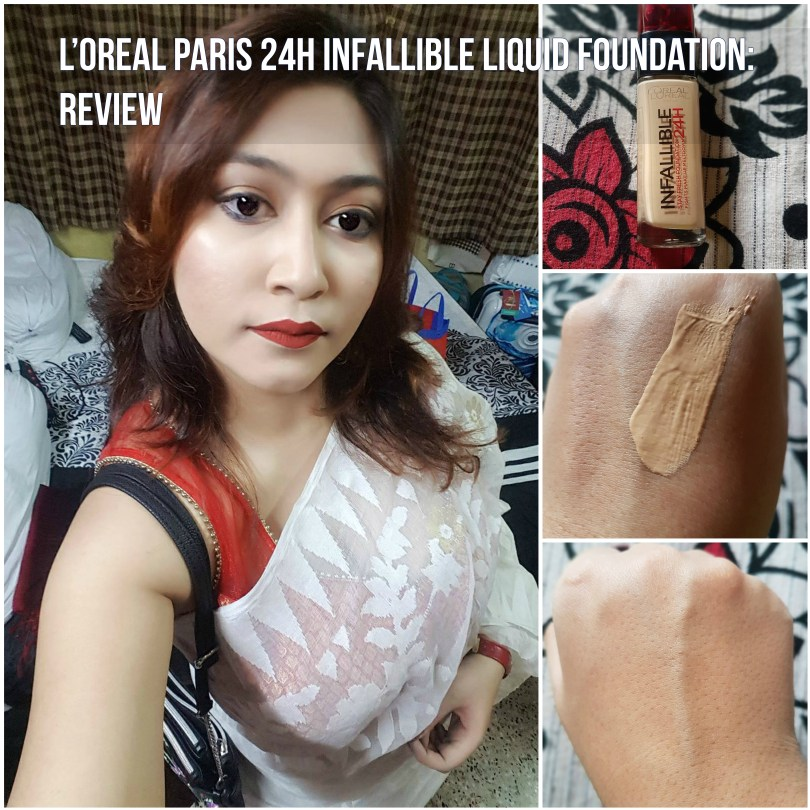 L'Oreal Paris 24H Infallible Liquid Foundation