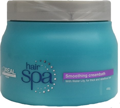 Loreal Hair Spa Smoothing CreamBath