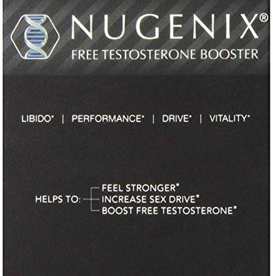 Nugenix Natural Testosterone Booster Capsules