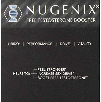 Nugenix Natural Testosterone Booster Capsules