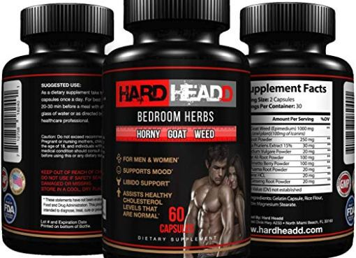 Hard Headd Horny Goat Weed Extract with Maca & Tongkat Ali