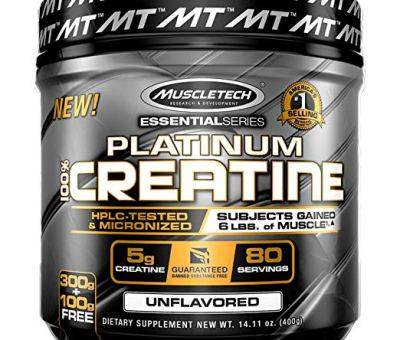 MuscleTech Platinum Creatine Monohydrate Powder - Review