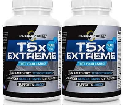T5X Extreme Testosterone Booster for Muscle Growth and Libido Enhancement